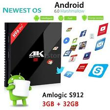 H96 Pro+ Amlogic S912 Android 6.0 3G 32G 16.1 Dual WiFi UHD 4K Smart TV BOX V1F7