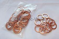 50 piezas anillos de Cobre Junta CU 20x26x1, 5mm DIN 7603 Formulario A