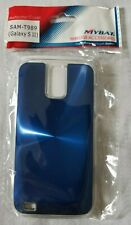 Blue Metallic Protective Case for Samsung Galaxy S II (T-Mobile) T989. New