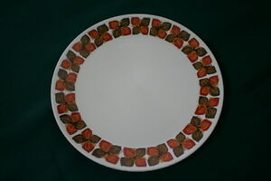 """NORITAKE PROGRESSION """"SOUTHERN GLOW"""" #9005 DINNER PLATE - EX COND, SMALL A/F"""