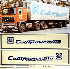 VOLVO sovtransvato (Bleu) Russie (URSS) 1:87 CAMION autocollant décalcomanie