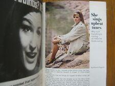 October 12, 1968 TV  Guide (GLORIA  LORING/TINY  TIM/MITZI  GAYNOR/RAYMOND  BURR