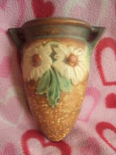 Vintage Original Roseville Dahlrose Wall Pocket/Vase. EXCELLENT L@@K!
