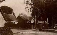 Meiklour Village & Cross in The Strathmore Series by Wm. Culross & Son # 171.