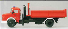 Fire Brigade MB Interchangeable Body Preiser 35014 HO Gauge) 16,5 mm) OVP