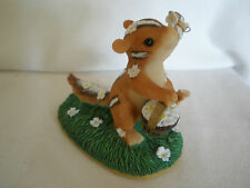 "Charming Tails Fitz & Floyd~ ""Wedding Day Blossoms"" 82/105~ Chipmunk Flower Girl"