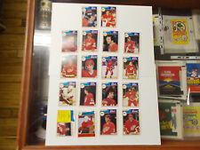 1983-84 O-PEE-CHEE HOCKEY TEAM SET DETROIT RED WINGS LOT OF 5 SETS (18 CARDS)