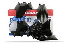 KTM Plastic Kit 2007-10 Black KTM SX- 125 SX / 250 SX / 250 SXF / 450 SXF