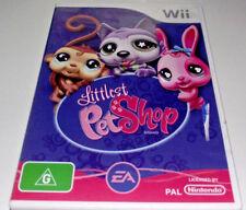 Littlest Pet Shop Nintendo Wii PAL *Complete* Wii U Compatible