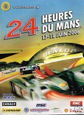 Publicité advertising 2006 Les 24 Heures du Mans
