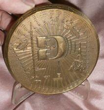 RARE Médaille bronze Monnaie de Paris 1977 - TDF Télédiffusion de France