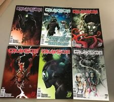 GALAKTIKON 1-6 Brendon Small Albatross Press Metalocaplyse Dethklok Adult Swim