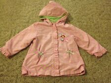 Girl's Strawberry Shortcake jacket size 24 months pink hooded