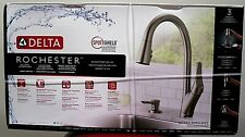 Delta Rochester Single-Handle Pull-Down Sprayer Kitchen Faucet with ShieldSpray