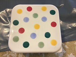 Emma Bridgewater Snack Boxes,4,stackable,melamine,Polka Dot,