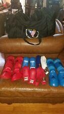 Adidas Karate WKF Approved Martial Arts Shin & Insteps Belts Macs Gloves Duffel