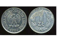 POLOGNE  1 zloty  1984