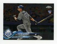 2018 Topps Chrome Update AUSTIN MEADOWS Rookie Card RC #HMT54 Tampa Bay Rays 54