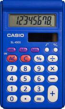 Casio Sl-450S Simpe Standard Function Calculator, Blue