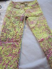 Women's Joe's Jeans skinny fit with floral print size W 25