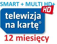 TnK, NC+, SMART+ MULTI HD+, 12M,Telewizja na karte, Aufladung, Doladowanie, TVN