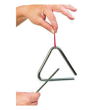 goki UC004 Triangle Métal Pages env. 11 cm de longueur Instrument de musique ! #