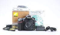 Nikon D800 Body + 52 Tsd. Auslösungen + Gut (224217)