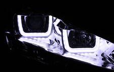 CROMO SET faros VW GOLF 7 VII LED barra-u Auténtico Luz de circulación diurna