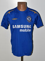 CHELSEA LONDON 2005/2006 CENTENARY HOME FOOTBALL SHIRT JERSEY UMBRO SIZE S ADULT