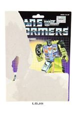 Scrapper Card 1985 Vintage Hasbro G1 Transformers