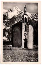 CPSM PF 74 - LES HOUCHES - MONT BLANC (Haute Savoie) - La Chapelle du Pont