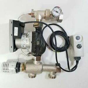 Watts Isomix-F Temperature Control Station for Hydronic Heating System 10070291