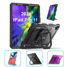"""For iPad Pro 11"""" 2020 360 Rotating Case Shockproof Rugged Cover w/ Pencil Holder"""