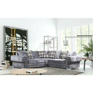 Modern Verona Corner Sofa in Grey Color