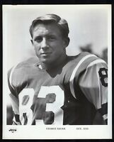1960s NEW YORK JETS End GEORGE SAUER 8x10 Team Issued Official JETS Photo
