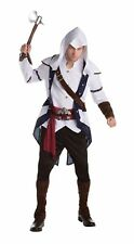 Palamon Mens Assassins Creed Connor Classic Game Costume Adult X Large