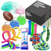 Fidget Toys Set with Stress Balls for Kids, Teens and Adults, 18 Pack