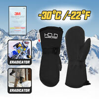 Herren Damen Ski Fäustlinge Handschuhe Winter Waterproof Thermal 3M Thinsulate