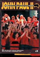 112 page POPE JOHN PAUL II Journey Through AUSTRALIA 1986 Official Issue