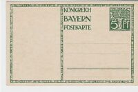 germany 1911 bavaria  stamps card ref r13526