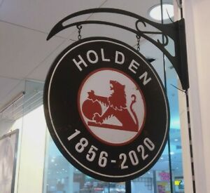 Holden Double Sided Hanging Sign. Shed & Man Cave Signs