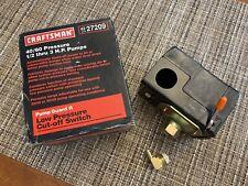 Craftsman Pump Guard II Pressure Switch