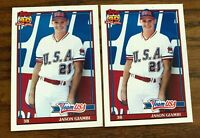 1991 Topps Traded #45 JASON GIAMBI RC - USA