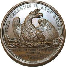 O5567 Rare Médaille Napoleon I Josephine Paris 1805 an XIII Brenet Desnoyers SPL