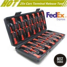 25X New Car Electrical Terminal  Release Tool Wiring Crimp Connector Pin Remover
