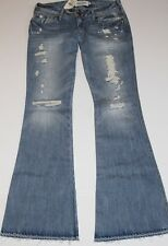 NWT! RARE ABERCROMBIE KIDS Girls Ashley Destroyed Distressed Flare Jeans Sz 16