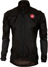 Castelli Squadra ER Mens Cycling Rain Jacket - Black
