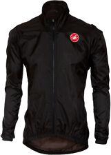 Castelli Squadra ER Mens Cycling Rain Jacket - Black