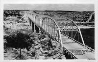 1940s Devil's River Bridge Del Rio Texas RPPC Real Photo postcard 11017 Lippe