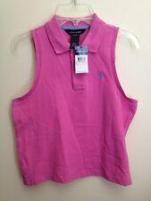 RALPH LAUREN Pink Sleeveless Shirt Girls XL (16) NWT!!!